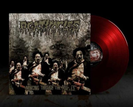 "AGATHOCLES -""Mincing through the Maples"" CLEAR RED VINYL"
