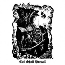 "BLACK WITCHERY ""Evil Shall Prevail"" 2x12"" GATEFOLD LP"